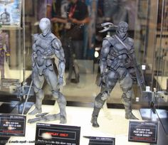 Grey Fox Cyborg Ninja : Solid Snake : Metal Gear Solid