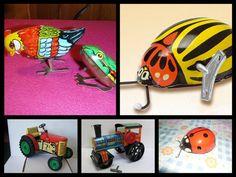 hracky na klucik Retro 2, Tin Toys, My Childhood, Memories, Sculpture, Antiques, Poland, Childhood Memories, Nostalgia
