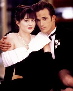 The Most Iconic Prom Dresses of All Time - Beverly Hills 90210, 1993