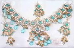 Necklace sets made by skilled designers increases the uniqueness of your set and is always according to the latest trends Indian Wedding Jewelry, Wedding Jewelry Sets, Indian Bridal, Indian Jewelry, Wedding Accessories, Bridal Jewellery, Diamond Jewellery, Photo Jewelry, Body Jewelry