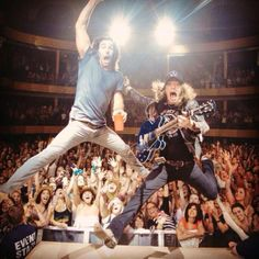 Jake Owen & Jaren Johnston from The Cadillac Three