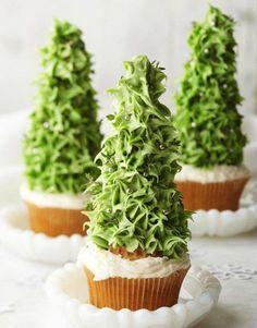 albero di natale cupcakes