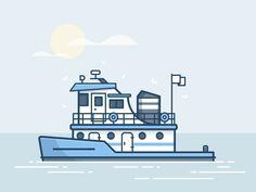 Tugboat by Scott Tusk