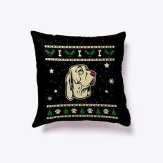Christmas Bracco Italiano Gift Pillow #fashion #home #garden #homedcor #pillows (ebay link) Christmas Cushions, Christmas Pillow, Throw Pillow Cases, Decorative Throw Pillows, Rat Terrier, Mermaid Pillow, Personalized Pillows, Geometric Pillow, Dog Gifts