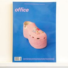 #balenciaga #crocs by #dianarojas on the cover of @officemagazinenyc . #officemagazinenyc #fashion #culture #music #style