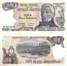 Argentina (1970-1983) - 100 pesos