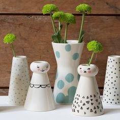 Anna considers these vases particularly fun and quirky. In shops now. Prices from DKK 16,60 / SEK 22,80 / NOK 23,90 / EUR 2,33 / ISK 454 / GBP 1.98