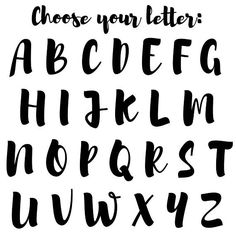 Items similar to Gold Monogram Tote Alphabet Cursif, Caligraphy Alphabet, Hand Lettering Alphabet, Brush Lettering, Typographie Fonts, Lettering Tutorial, Handwriting Fonts, Bullet Journal Ideas Pages, Marie