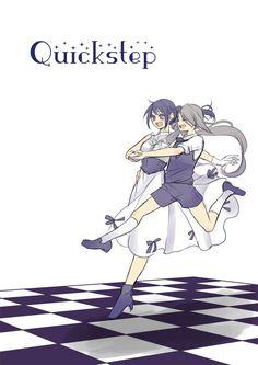 """tsugumi on Twitter: """"今剣とクイックステップ。「あるじさま『せーの』で、ばびゅーん!ですよ」 短刀には限界など無い的なリードのいまつるちゃん大好きです。 ちなみに初鍛刀です(*´ω`*) #刀と踊る https://t.co/gb4sYo5o3r"""""""