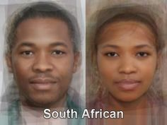 The typical South African face from thousands and thousands of images of everyday people compiled together into one composite portrait. To see more, go here. http://www.mediadump.com/hosted-id167-average-faces-from-around-the-world.html