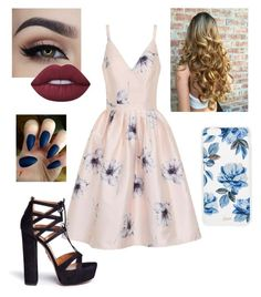 """Untitled #211"" by xox-calumsgxrl on Polyvore featuring Chi Chi, Aquazzura, Lime Crime and Sonix"