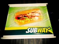Impressão de banner do Subway =)