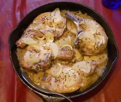 Pork Chop Casserole- OMG! We cooked this for dinner tonight and it was amazing!!!!!