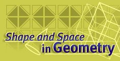 Space and Geometry- teacher's lab from Annenberg Learner looks at geometry not in the abstract, but in its concrete aspects. Challenging to middle school students and high school students in basic math classes.