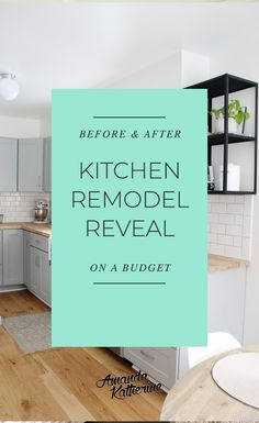 Small Kitchen Remodel Before and After Layout Design, Be Design, Design Blog, House Design, Small Kitchen Renovations, Kitchen On A Budget, Kitchen Redo, Kitchen Design, Kitchen Ideas