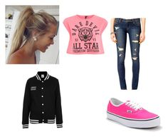 """Untitled #58"" by leahliz ❤ liked on Polyvore featuring Forever 21, Influence, Vans and The Ragged Priest"