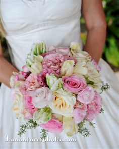 Personal Flowers, Wedding Floral, Wedding, Wedding Bouquet Ceremony, Damon Tucci Photography, Soft Pink Rose, White Rose