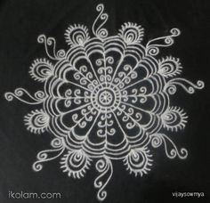 Alpana Rangoli designs images are traditional Bengali designs which are usually made with rice powder mixed with water. Small Rangoli Design, Rangoli Designs Images, Henna Designs, Coloring Books, Coloring Pages, Kolam Rangoli, Simple Rangoli, Mandala Drawing, Indian Festivals