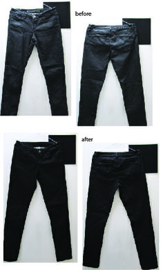 We love jeans...especially black jeans! Have yours faded? Re-fresh to black with Dye It Black