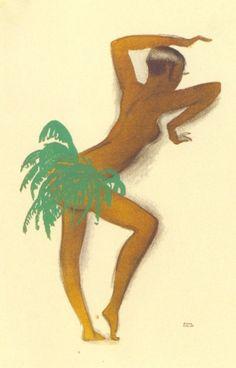 Josephine Baker by Paul Colin