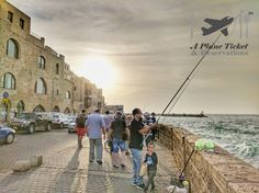 This is the old Jaffa Port in Tel Aviv.  It has been in use for more than 7000 years and it has been mentioned in several ancient literartures.  It's now a tourist hotspot with its new cultural centers shops and restaurants.  More pics in link in our bio! #APlaneTicketAndReservations        #JaffaPort #TelAviv #Israel #ToLiveAndDineInTelAviv #ToLiveAndDine #GrubLife #Travel #Traveler #Travels #TravelGram #TravelinGram #Traveling #Vacation #Wanderlust #TravelBlog #Holiday #TravelBlogger…