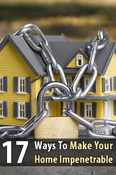 In addition to getting a security system, you should make sure your home is too difficult to break into in the first place.