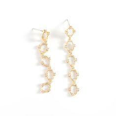 Justine Gold Earrings