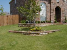 stone bed edging