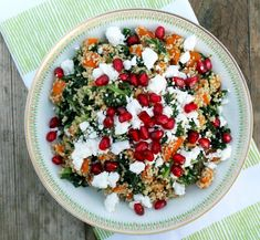 Winter Couscous Bowl - balance holiday indulgence with this colorful and tasty meal!