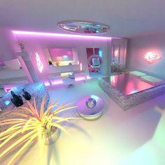 & & [pin_pinter_full_name] & & Cute Bedroom Ideas, Cute Room Decor, Girl Bedroom Designs, Room Ideas Bedroom, Awesome Bedrooms, Cool Rooms, Bedroom Decor, Dream Rooms, Dream Bedroom