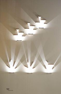 Vibia | Contemporary wall light installation | 2014 Frankfurt Light & Building exhibition @Luxologie #LB14