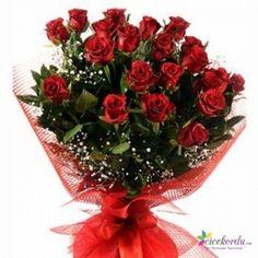 Kırmızı Gül Buketi Ordu'da hızlı, ucuz ve kaliteli çiçek göndermek için en doğru adres.. www.cicekordu.com