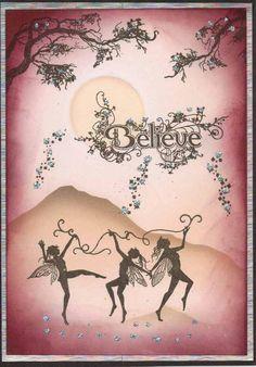 """""""Believe"""" Fairy Card £2.00"""