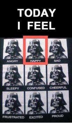 Today I feel happy!