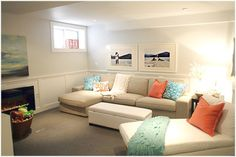 love the couch small basement ideas pictures home decor and