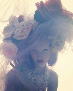 Karlie Kloss by Nick Knight for W Magazine