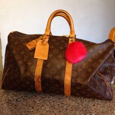 Authentic LV duffel 45 Authentic in excellent condition comes with everything you seeperfect carry on sizedate code SP0072 less on MERC Louis Vuitton Bags Satchels