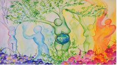 Spoken Meditation Nurturing Mother Goddess Guided Visualization, Love! Free Meditation, Guided Meditation, Jason Stephenson, Mother Goddess, Inner Peace, Namaste, Mystic, Artwork, Painting