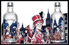 Absolut has launched a limited edition bottle with a design from Jamie Hewlett. As is the norm, Absolut continues to enthrall us with funky designs such as the pinstripe edition and the Absolut Svea.