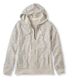 #LLBean: Textured French Terry Hoodie