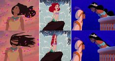 disney princess with normal hair - Szukaj w Google