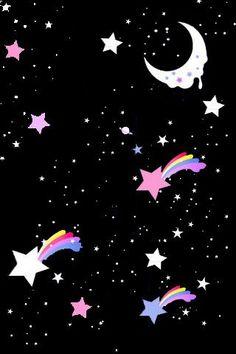 Angelic Pretty :: Dreamy Sky Lolita Print