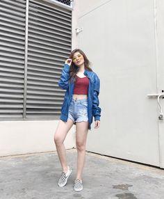 Loisa Andalio (@iamAndalioLoisa) | Twitter Ronnie Alonte, Denim Fashion, Fashion Outfits, Filipino Fashion, Liza Soberano, Casual Outfits, Kathryn Bernardo, Hipster, Style Inspiration