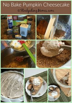 This recipe for No Bake Pumpkin Cheesecake is amazing and so easy to prepare! The perfect dessert to serve for Thanksgiving or Christmas. You can make this delicious pumpkin cheesecake in as little as an Baked Pumpkin, Pumpkin Spice, Best Cereal, No Bake Pumpkin Cheesecake, Nutritious Breakfast, Thanksgiving Desserts, Pumpkin Dessert, Food Processor Recipes, Sweet Treats