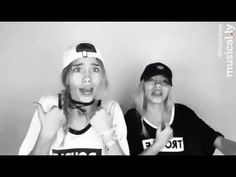 Lisa and Lena Twins   Hot N Cold (Musical.ly)