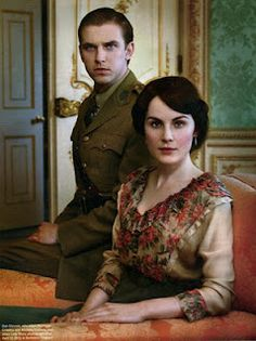 They really knew how to make war fashionable in the early 1900s, eh? Still, who doesn't love a man in uniform? #downtonabbey