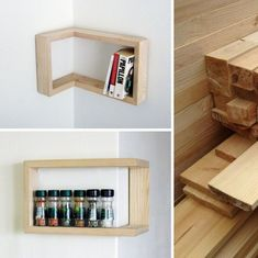 12 Neat Homemade Items for Your Garden - So Crafty Wine Barrel Sink, Floating Nightstand, Floating Shelves, Homemade Coffee Tables, Log Stools, Empty Plastic Bottles, Outdoor Sinks, Making A Bench, Make A Door
