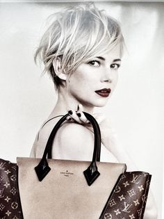 Michelle Williams hair love :-)