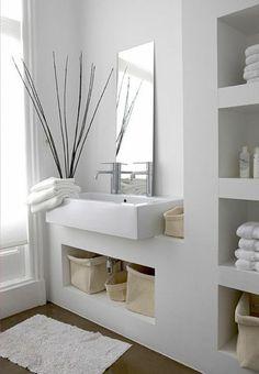 moderne bäder moderner spiegel waschbecken schöne regale
