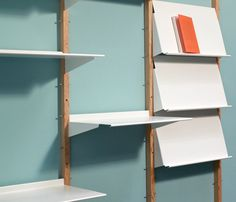 Revolver Shelving System perfect for magazines to display